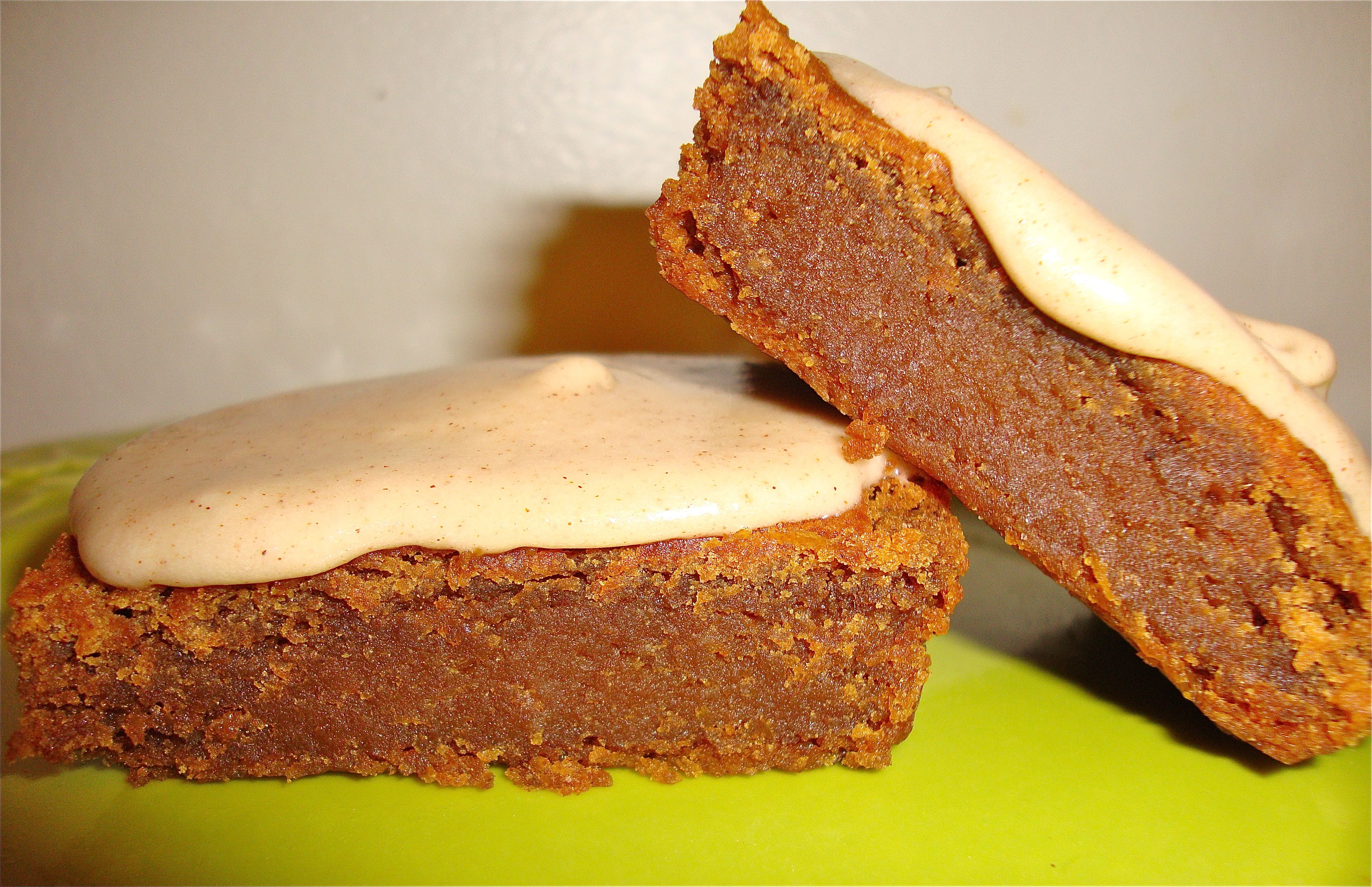 healthy gingerbread squares gluten free